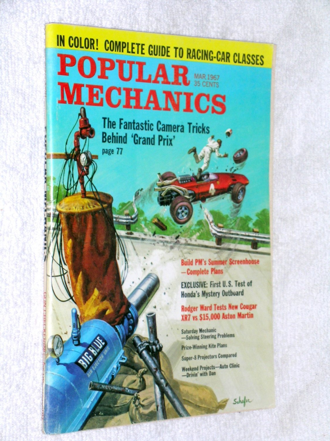 Popular Mechanics Mar 67 Grand Prix, Racing Car Classes