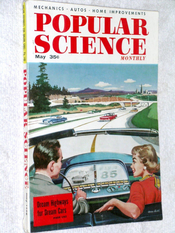 Popular Science Mar 56 Dream Highways