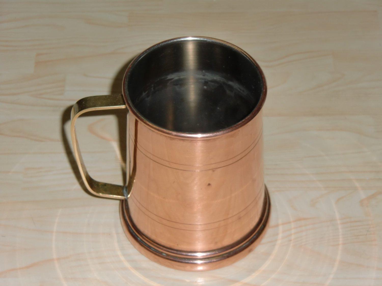 Copper mug beer mead ale heavy