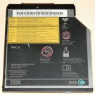 Genuine IBM Thinkpad UltraBay 2000 DVD-ROM REV. 103 Internal Laptop Drive FRU; 27L4351 PN: 27L4350