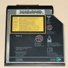 Genuine IBM Thinkpad UltraBay 2000 DVD-ROM REV. 303 Internal Laptop Drive FRU 27L4355 PN 27L4354