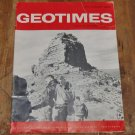 GEOTIMES 1964 July-August Vol.9, No.1 American Geological Institute Journal Magazine