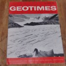 GEOTIMES 1964 October Vol.9, No.3 American Geological Institute Journal Magazine