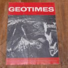 GEOTIMES 1965 September Vol.10, No.2 American Geological Institute Journal Magazine