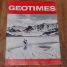 GEOTIMES 1965 November Vol.10, No.4 American Geological Institute Journal Magazine