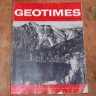 GEOTIMES 1966 February Vol.10, No.6 American Geological Institute Journal Magazine