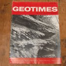 GEOTIMES 1966 April Vol.10, No.8 American Geological Institute Journal Magazine