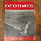 GEOTIMES 1966 October Vol.11, No.3 American Geological Institute Journal Magazine