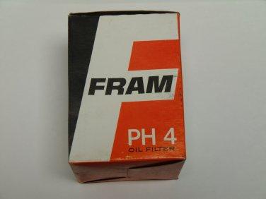 NOS Fram PH4 Oil Filter 5575425 1960 Chevrolet Corvair, model 700, 6 cyl., 4 dr