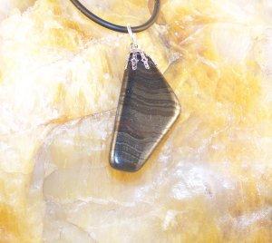 Black Banded Pendant