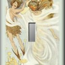 Fairy Pixie Field of Wildflowers Single Switch Plate
