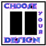 Customize A Double Rocker Switch Plate With Your Choice Of Design!