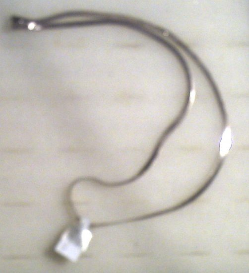 """18""""  sterling Italy Necklass 10.00"""