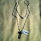 "15""  sterling Necklass w/sterling Pendant   $25.00"