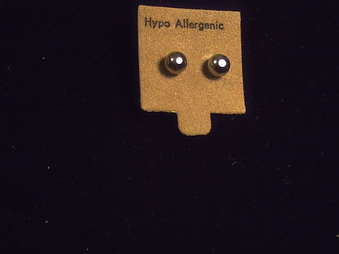 Earrings Hypo Allergenic