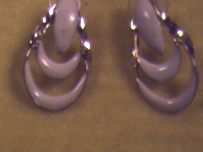 Gold n Cream Pierced Earrings (010)