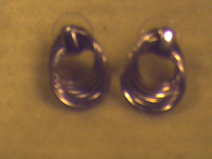 Gold Pierced Earrings  (014)