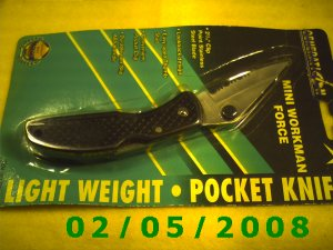 WorkmanPocket Knife