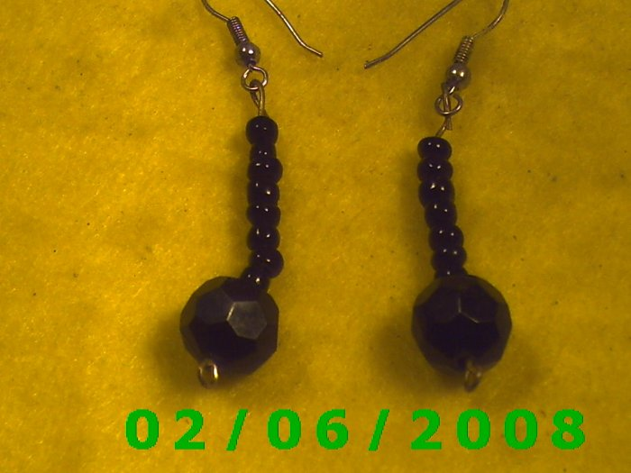 Bead Dangle Pierced Earrings