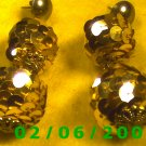 Sequined Balls n Balls Pierced Earrings (062)