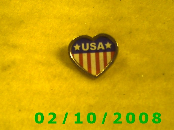 USA Patriotic Hat Pin