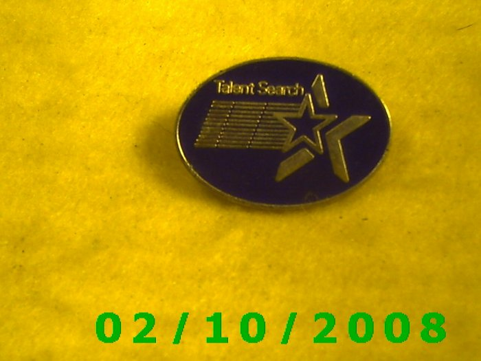 Talent Search Hat Pin
