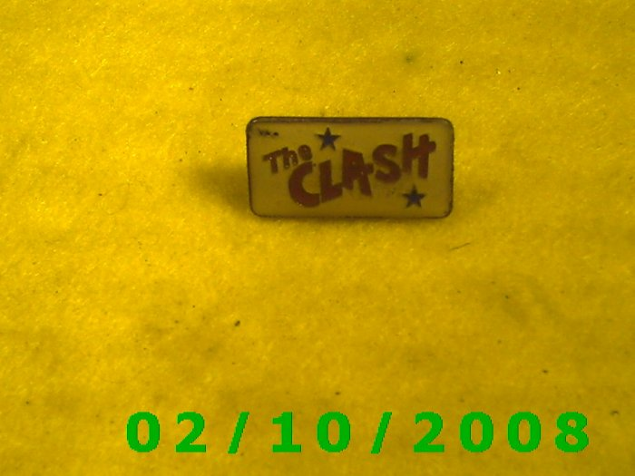 The Clash Hat Pin