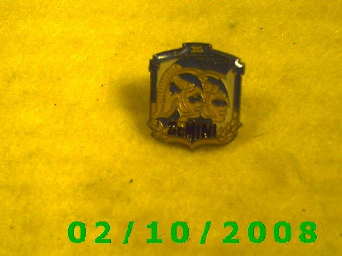 Gemini Hat Pin