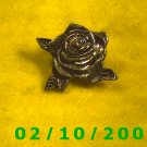 Silver Rose Hat Pin
