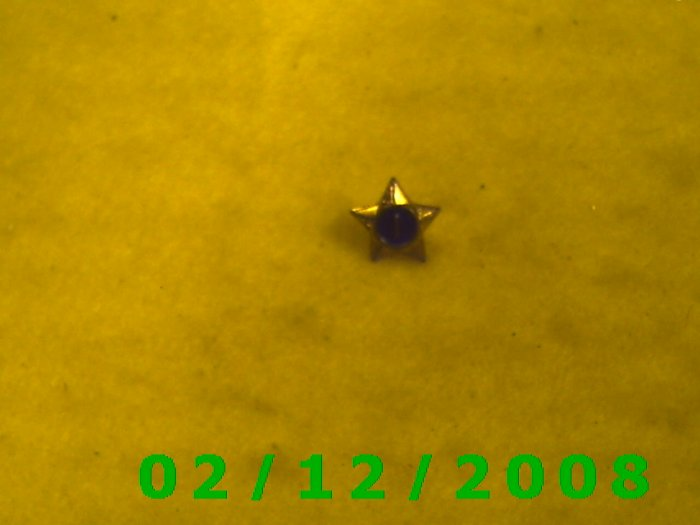 Star 1 Hat Pin