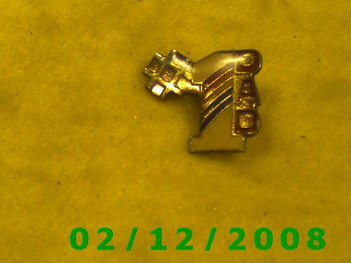 #1 DadHat Pin