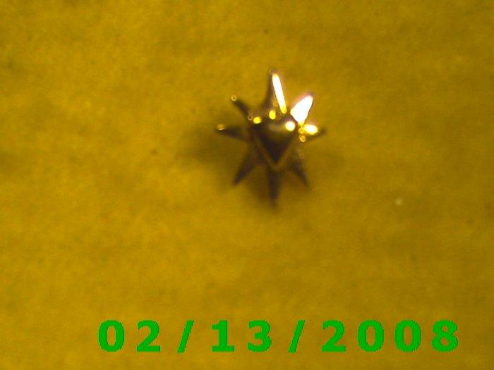 Heart n Star Hat Pin