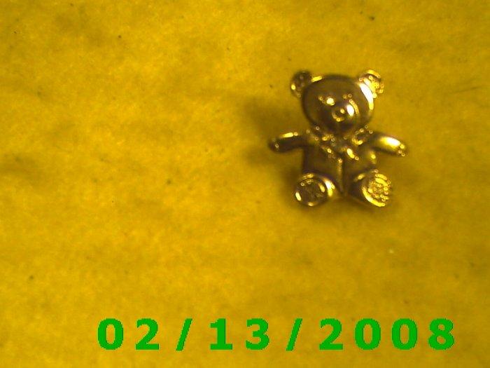Teddy Bear Hat Pin
