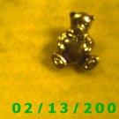 Bear w/Heart Cinco Hat Pin