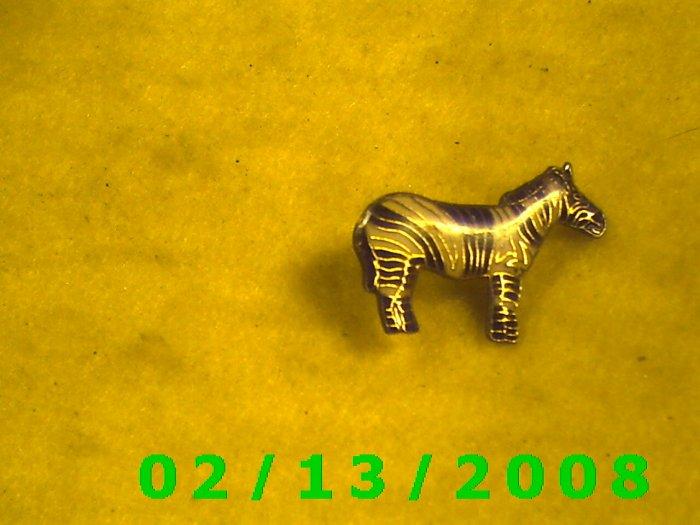 Zebra Hat Pin