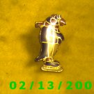 Penquin on Ice Skates Hat Pin