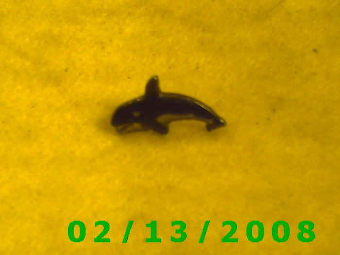 Killer Whale Hat Pin