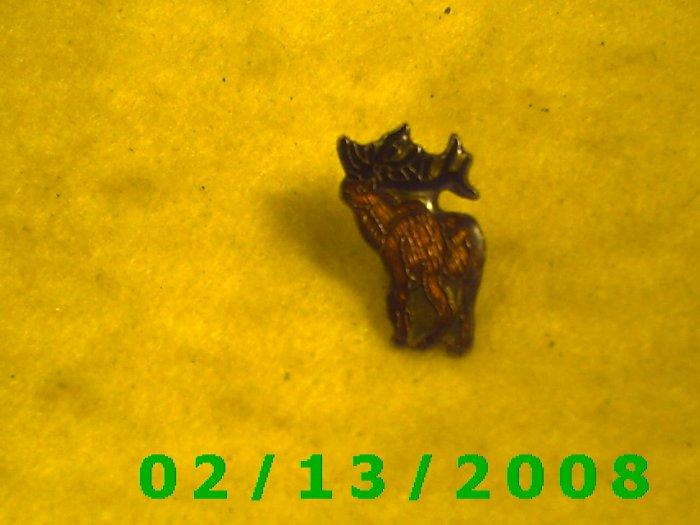 Moose Hat Pin