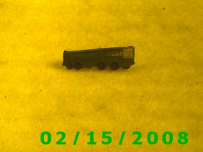 The Green Bus Hat Pin