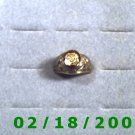 Gold Shield Ring VFW size 10  Lifetime Warranty