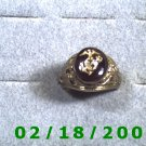 Gold Shield Guard Ring Marine size 10 Lifetime Warranty