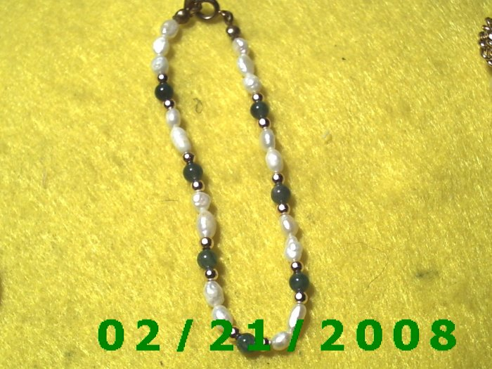 "7.5"" Bead  Bracelet (002)"