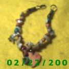 """7"""" Beads n Shells Bracelett (021)"""
