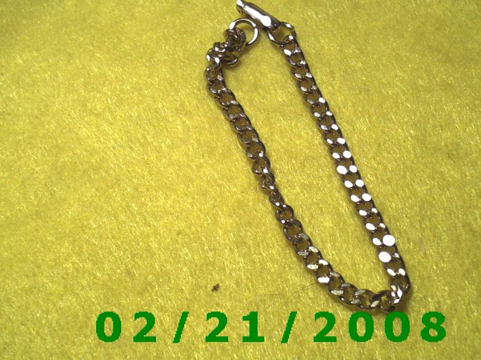 "7"" Gold Bracelet (011)"