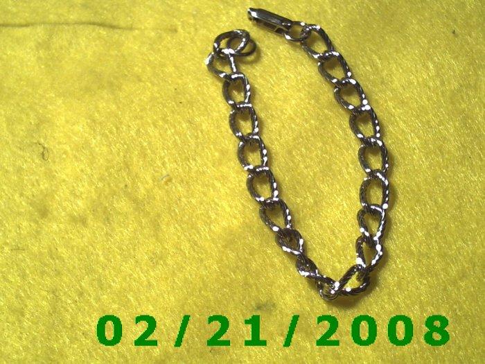 "7"" Silver Bracelet (010)"