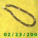 """7"""" 5mm wide Gold Plated Bracelet (042)"""