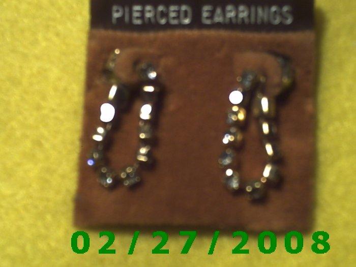 Earrings, Rhinestones (027)