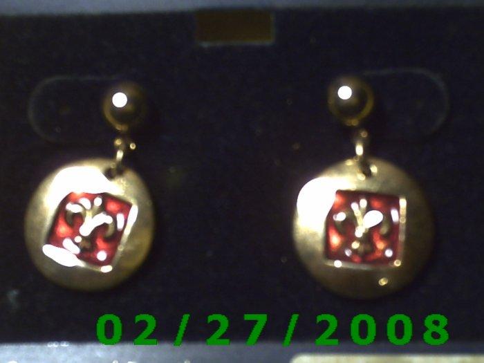 Earrings, Galaxi (025)