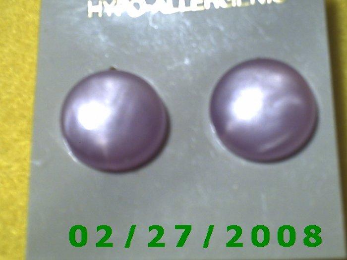 Earrings, Hypo Allergenic (020)