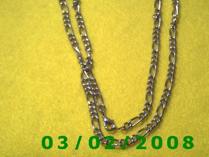 "20"" Silver Necklace (005)"